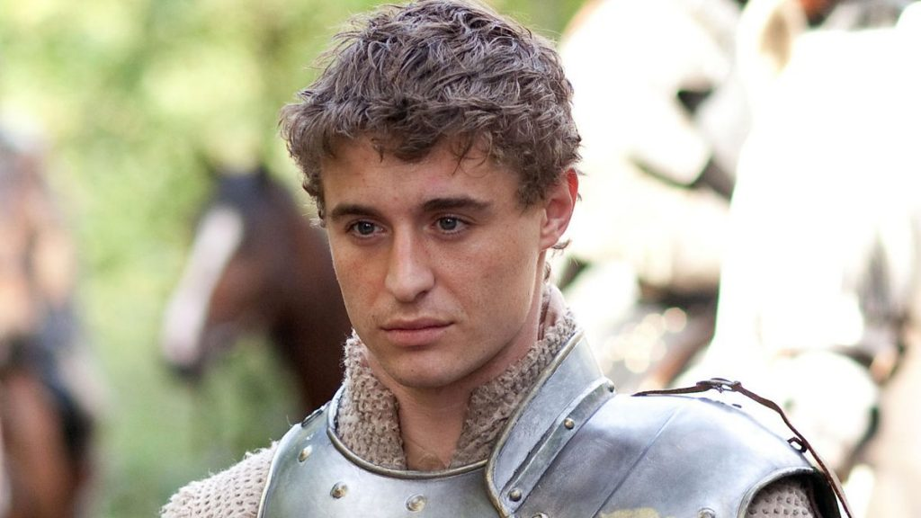 Max Irons (como Edward IV) em uma still da série The White Queen do canal Starz em parceria com a BBC (via BBC)